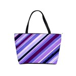 Purple Candy Cane Custom Classic Shoulder Handbag