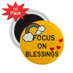 blessings 2.25  Magnet (10 pack) from ArtsNow.com Front