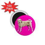 BP Yellow Labrador Retriever Dog Gifts 1.75  Magnet (100 pack)
