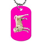 BP Yellow Labrador Retriever Dog Gifts Dog Tag (Two Sides)