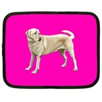 BP Yellow Labrador Retriever Dog Gifts Netbook Case (Large)