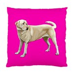 BP Yellow Labrador Retriever Dog Gifts Cushion Case (Two Sides)