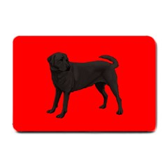 BR Black Labrador Retriever Dog Gifts Small Doormat from ArtsNow.com 24 x16  Door Mat