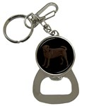 BB Chocolate Labrador Retriever Dog Gifts Bottle Opener Key Chain