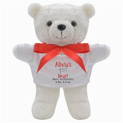 1st (customized for you) Teddy Bear from ArtsNow.com Front