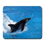 Swimming Dolphin Large Mousepad