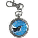 Swimming Dolphin Key Chain Watch