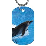 Swimming Dolphin Dog Tag Dog Tag Dog Tags (two sides)