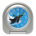 Swimming Dolphin Travel Alarm Clock