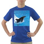 Swimming Dolphin Dark T-Shirt