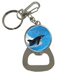 Swimming Dolphin Bottle Opener Key Chain