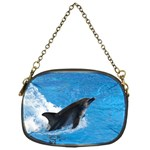Swimming Dolphin Chain Purse (One Side)