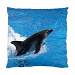 Swimming Dolphin Cushion Case (Two Sides)