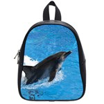 Swimming Dolphin School Bag (Small)