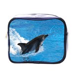 Swimming Dolphin Mini Toiletries Bag (One Side)