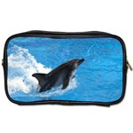 Swimming Dolphin Toiletries Bag (Two Sides)
