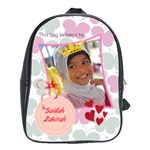 heartsnbutterflies School Bag (Large)