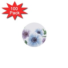 Flower028 1  Mini Button (100 pack)  from ArtsNow.com Front