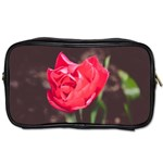 Red flower Toiletries Bag (Two Sides)