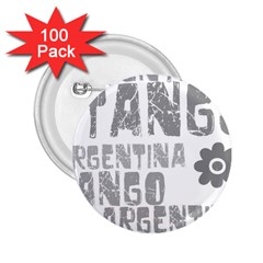 Argentina tango 2.25  Button (100 pack) from ArtsNow.com Front