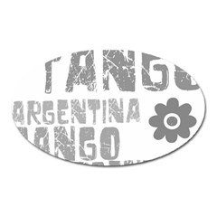 Argentina tango Magnet (Oval) from ArtsNow.com Front