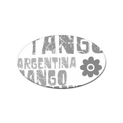 Argentina tango Sticker Oval (10 pack) from ArtsNow.com Front