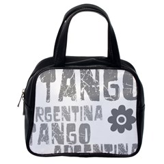 Argentina tango Classic Handbag (One Side) from ArtsNow.com Front