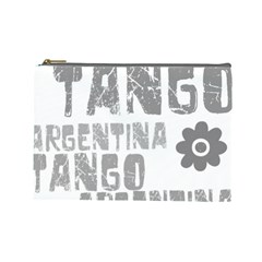 Argentina tango Cosmetic Bag (Large) from ArtsNow.com Front