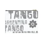 Argentina tango Cosmetic Bag (Large) from ArtsNow.com Back