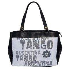 Argentina tango Oversize Office Handbag (One Side) from ArtsNow.com Front