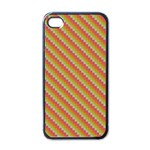 Confused Check Apple iPhone 4 Case (Black)