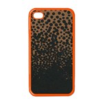 Charcoal Dot Apple iPhone 4 Case (Color)