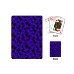Purple Leaf Playing Cards (Mini)
