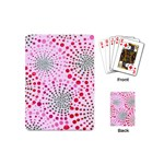 Pink Spiral Playing Cards (Mini)