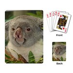 Koala Bear Playing Cards Single Design