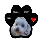Ashley Rescue Magnet Magnet (Paw Print)