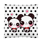 Kawaii Pandas Cushion Case (Two Sides)