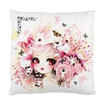 Beautiful anime girl Cushion Case (Two Sides)
