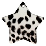 Snow Leopard	 Ornament (Star)