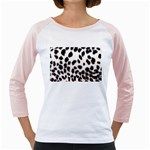 Snow Leopard	 Girly Raglan
