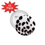 Snow Leopard	 1.75  Button (10 pack)