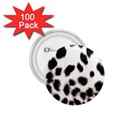 Snow Leopard	 1.75  Button (100 pack)