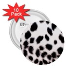 Snow Leopard	 2.25  Button (10 pack)