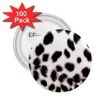 Snow Leopard	 2.25  Button (100 pack)
