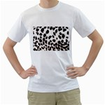 Snow Leopard	 White T-Shirt