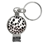 Snow Leopard	 Nail Clippers Key Chain