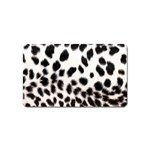 Snow Leopard	 Magnet (Name Card)