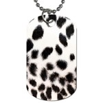 Snow Leopard	 Dog Tag (One Side)