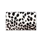 Snow Leopard	 Sticker Rectangular (10 pack)