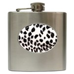 Snow Leopard	 Hip Flask (6 oz)